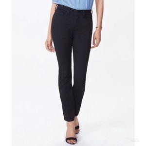 NYDJ Black Alina Skinny Legging Jean Pants Size 4